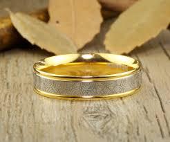 gold wedding bands for men handmade gold wedding band men ring ring titanium ring