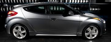 flat out funky the 2013 hyundai veloster turbo u0027s matte gray paint