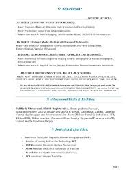 ultrasound resume sonographer resume sonographer resume gabriel