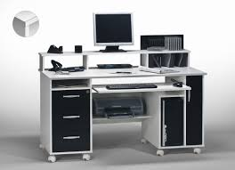bureaux informatique bureau informatique contemporain blanc noir andria bureau bureau