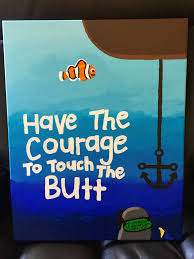 Pinterest Canvas Ideas by My Newest U0027finding Nemo U0027 Inspired Canvas Painting Turned Out