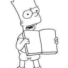 simpsons free coloring pages kids