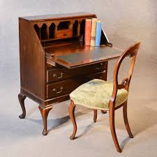 bureau writing desk antique bureau writing desk mahogany edwardian