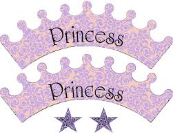 food art party princess cupcake wrappers print sofia