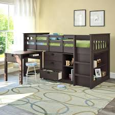 Bunk Bed With Desk And Stairs Loft Beds Queen Loft Bed Plans Full Size Of Bunk For 8 Foot