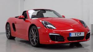 porsche boxster 2016 red yorkshire classic porsche used cars in leeds autoweb
