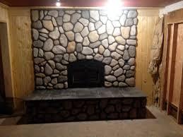stone fireplace surround kits home design robinson flagstone