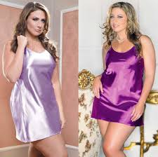 plus size satin slip available in 9 colors