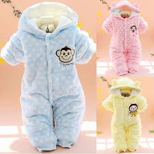 baby rompers winter baby clothes parkas newborn baby