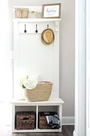 shelves hall storage with coat hooks contemporary shelves narrow