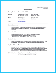 Sample Qa Test Technician Resume Writing A Concise Auto Technician Resume