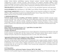 detailed resume exle engineer resume network exceptional information technology cisco doc