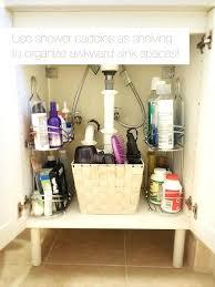 under the sink bathroom organizer bathroom organizing stroymarket info