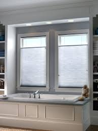 Bathroom Bay Window Window Blinds Window Privacy Blinds Bathroom Honeycomb 1 Bay