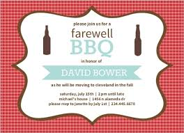 farewell party invitation checkered backyard bbq farewell party invite going away invitations