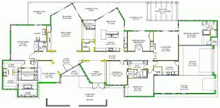 One Level Luxury House Plans Luxury One Story Home Plan Marvelous House Plans Single Stock