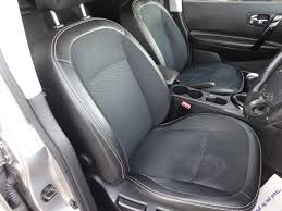 nissan qashqai leather seat covers used nissan qashqai hatchback 1 6 360 5dr in bitteswell
