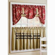 Stylish Kitchen Curtains by Largest Catalog Of Kitchen Curtains Designs Ideas 2015 The Home