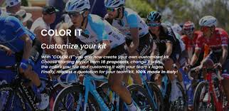 Design Your Own Kit Home Online by Cycling Apparel Online Gsg