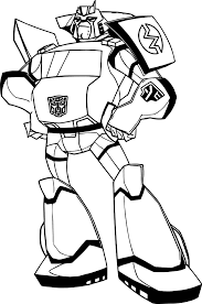 fat transformers coloring page wecoloringpage
