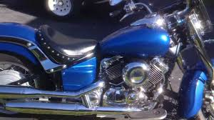 custom blue pearl motorcycle paint job youtube