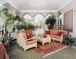 sunroomsby john charles interiors cottage style decor evokes a