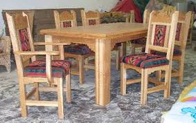 Hickory Dining Room Chairs by Southwestern Furniture In Solid Hickory