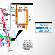 L Train Chicago Map by Say Hello To Chicago U0027s First