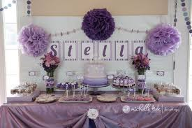 1st birthday cake table decorations