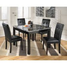 signature design by ashley maysville 5 piece dining table set