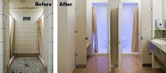 Corian Shower Enclosure Solid Surface Showers Vs Tile Get The Grout Out Benefits Of