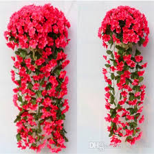 Wedding Home Decoration 2017 Wedding Decoration Artificial Flowers Pattern Violet Wall