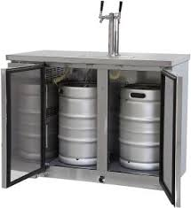 kegerator black friday kegerator commercial grade dual tap beer cooler keg dispenser ebay