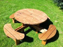round picnic tables for sale round picnic bench round garden bench round wood picnic tables