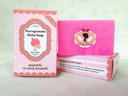 Gluta Soap x3 pomegranate gluta soap reduce acne white skin anti aging 70
