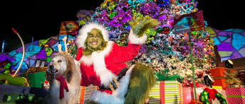 grinch christmas tree grinchmas at universal studios 2017 2018