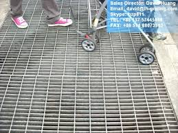galvanized sheet metal grates galvanized open steel floor grating