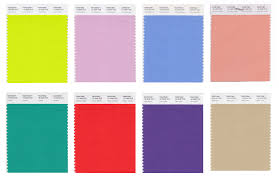 pantone lists 12 leading spring colors u2013 wwd