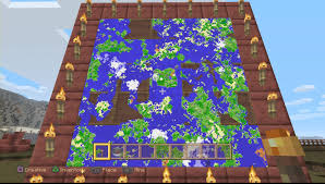 Mincraft Maps Minecraft Ps4 Tu31 New Map System Explained 0163 Youtube