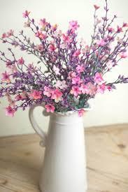 Star Vase Star Flower Bush 19in Pink U0026 Lavender