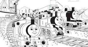 coloring pages thomas friends coloring
