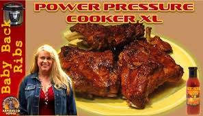 baby back ribs in the power pressure cooker youtube