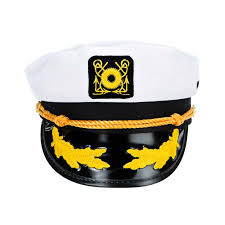 halloween hats sailor captain yacht adjustable snapback cap boat halloween