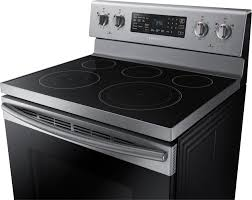 Cooktops On Sale Samsung 5 9 Cu Ft Convection Freestanding Electric Range Silver