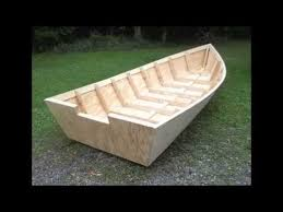 Wooden Jon Boat Plans Free by Wood Boat Plans Stitch U0026 Glue Large Wooden Boat Building Youtube