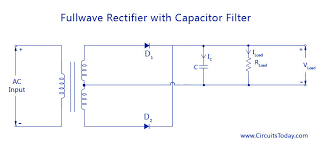 filter circuits working series inductor shunt capacitor rc filter