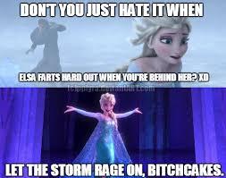 Elsa Frozen Meme - fart raging on by alien snowflake on deviantart