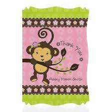 monkey invitations baby shower baby shower monkey invitations