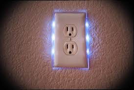 light switch cover night light led light switch plate and electrical outlet nightlight