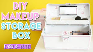 Diy Home Giveaway Diy Makeup Storage Box Easy And Cute Giveaway L Csmakeup My